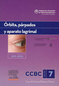 traducción médica de órbita, párpados y aparato lagrimal