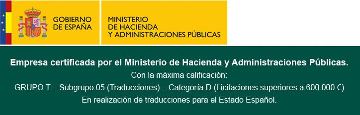 Gea Médicas, empresa certificada por el ministerio de hacienda